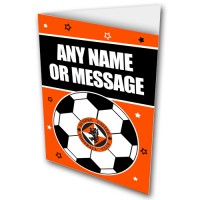 Greeting Card Any Message Football