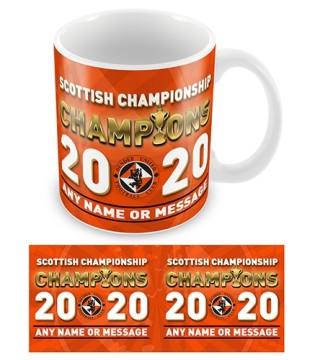 Mug Dundee Utd Champions