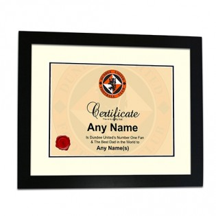 Framed Print Certificate-Fathers Day