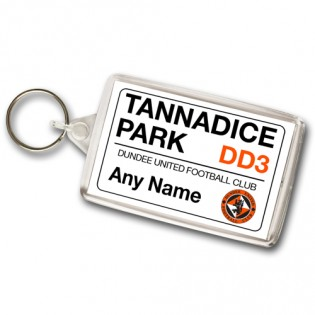 Keyring Street Sign