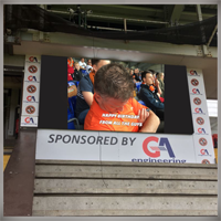 Scoreboard Message Image & Text